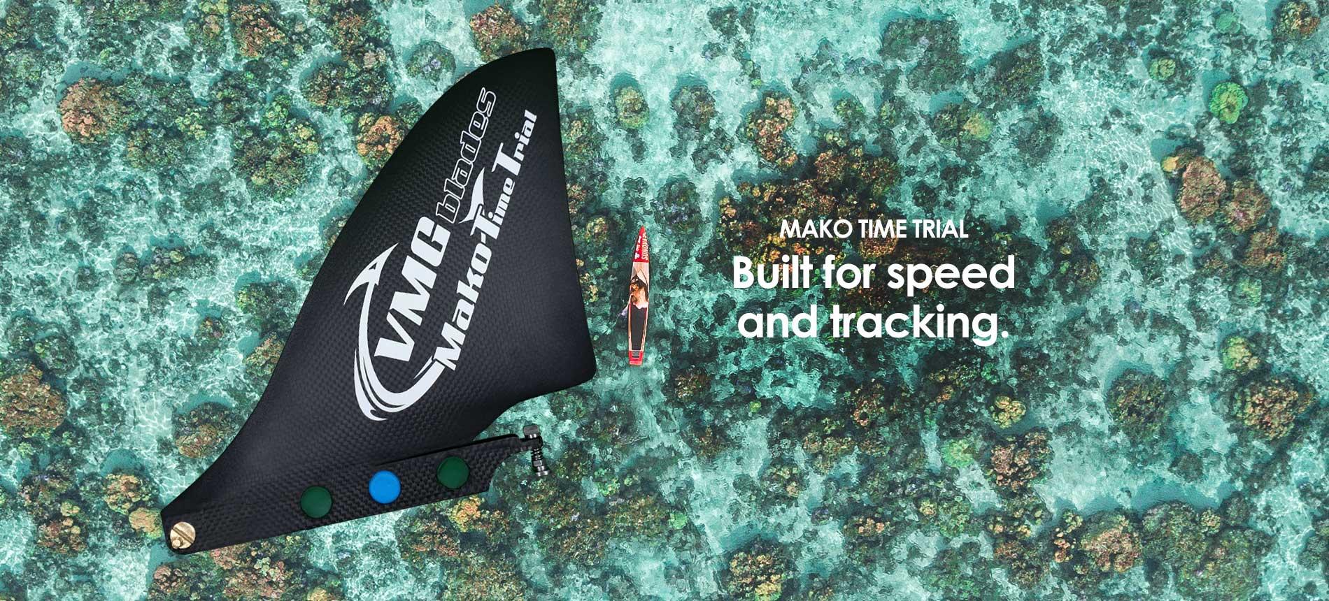 Sup Racing Fin - Mako Time Trial