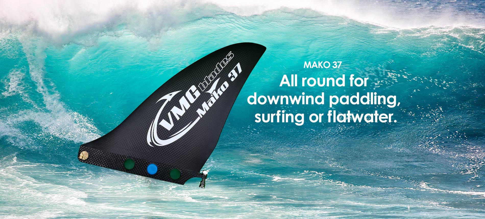Stand Up Paddle Fin - Mako 37