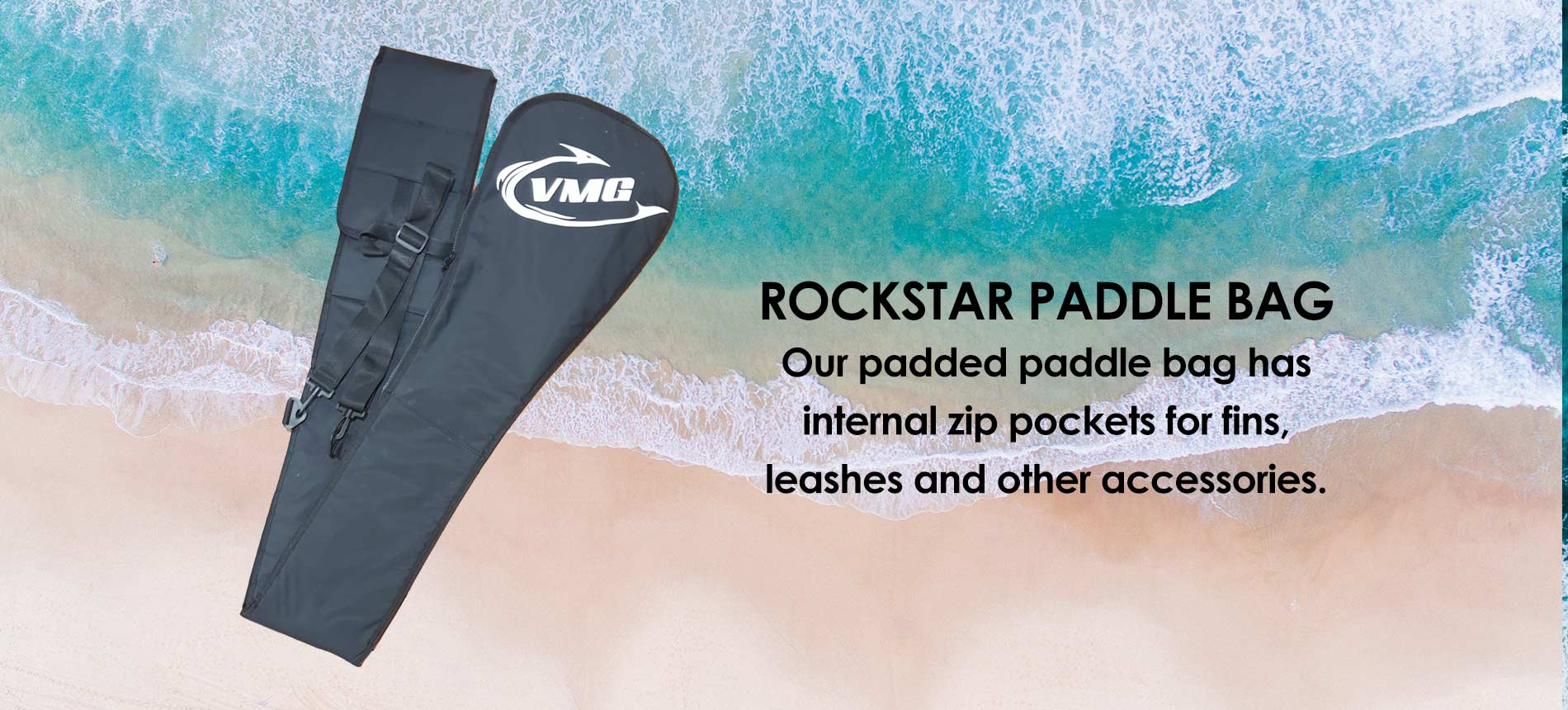VMG Rockstar Padded Paddle Bag